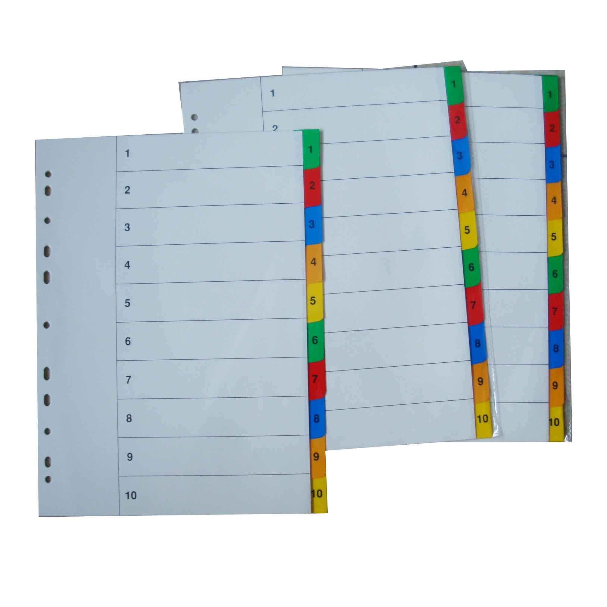 Hunan Raco Enterprises Co Ltd A4 Paper Divider Papel